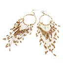 Sweet Style Bohemia Alloy Drop Earring(Assorted Color)