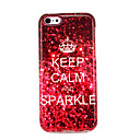 Keep Calm And Sparkle Glossy TPU Soft Case for iphone 5C