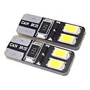 T10 1.5W 4x5730SMD 27LM 5500-6000K Cool White LED Bulb for Car (12V)