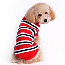Classic Zebra Cotton Folding Collar Cotton Sweater for Pets Dogs (Assorted Colors, Sizes)