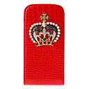 Crown Design PU Leather Case with Magnetic Snap for Samsung Galaxy S3 I9300 (Assorted Colors)