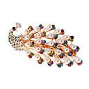 (1 Pc)Ethnic Multicolor Pearl Barrette FOR Women