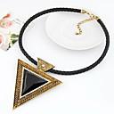 European Style Retro Triangle Necklace