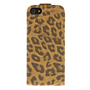 Leopard Print Pattern Flip-opened PU Full Body Case for iPhone 5/5S (Assorted Colors)