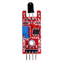 Flame Detection Sensor Module for (For Arduino) DIY project - Red  Blue