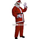 Classic Style Santa Claus Velvet Mens Christmas Costume