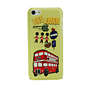 ANZO Quick Match Design Pattern 3D Carving Plastic Back Cover for iPhone 5C