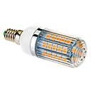 E14 9W 47x5050SMD 650LM 2500-3500K Warm White Light LED Corn Bulb (210-240V)