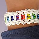 ciernen bandas kit diy pulsera (600 piezas, con s-clips o c-clips, 1 especificación, agujas de ganchillo 1)