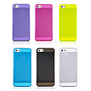 Joyland Solid Color Transparent TPU Soft Back Case for iPhone 5/5S(Assorted Color)