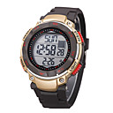 Children/Men's SYNOKE LEO Dial Digital PU Band Water Resistant Swimming Wrist Watch