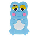 Cartoon Style 3D Frog Pattern Silicone Soft Case for iPhone 5C (Assorted Colors)
