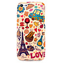 Eiffel Tower  Bread Glossy TPU IMD Case for iphone 5C