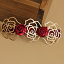 Rose Red Barrettes