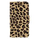 Image For Fashion Design Leopard Print Leather Case for BlackberryZ10