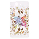 Butterfly Pattern Soft Protective Case for SONY L36H