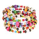 Image For Multicolor legno Wrap Bracelet Fashion 6cm Donne'S (Multicolor) (1 Pc)