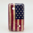 Retro US National Flag Pattern Hard Case for Sony Xperia Tipo ST21i