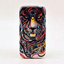 Angry Tiger Pattern Hard Back Cover Case for Samsung Galaxy S4 Mini I9190
