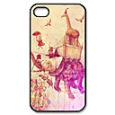 Elephant Design Pattern Plastic Hard Case for iPhone 4/4S