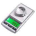 0.01g 0.1g 100g  500g joyería del bolsillo Dual Mini Balanza Digital