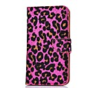 Elonbo J4J Fashion Shows Pink Leopard Print Full Body Case Cover for Samsung Galaxy S4 I9500