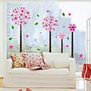 1PCS colorida desmontable Pandora árbol etiqueta de la pared