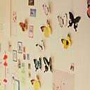 3D diy pared atickers vívidamente mariposa imán decoración de apartamento casa