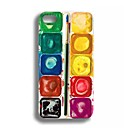 Elonbo J2K Cute Amazing Colorful Hybrid Hard Back Case Cover for iPhone 4/4S