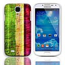 Vintage Stripes Pattern Hard Case with 3-Pack Screen Protectors for Samsung Galaxy S4 I9500