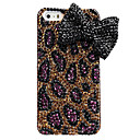 Leopard Print  Bowknot Design Back Case for iPhone 5/5S