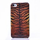 Tiger Stripes Pattern ABS Back Case for iPhone 4/4S