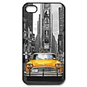 Popular New York Taxi Cab Pattern Plastic Hard Case for iPhone 4/4S