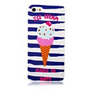 Ice Cream Pattern Silicone Soft Case for iPhone5/5s