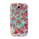 Butterfly Pattern Plastic Hard Case for Samsung Galaxy S3 i9300