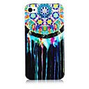 Oil and Aeolian Bells Pattern Silicone Soft Case for iPhone5/5S
