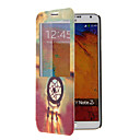Windbell Pattern Full Body Case with Window for Samsung Note3