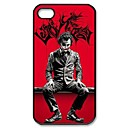 Popular Joker Pattern Plastic Hard Case for iPhone 4/4S