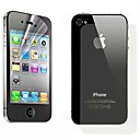 High-level Crystal Protective Film Guard Set with Installtion Tools for iPhone 4/4S