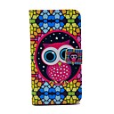 Cute Owl And Folk Style Pattern PU Leather Full Body Case for Samsung S5 I9600