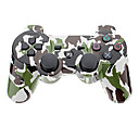 Camouflage Wireless Controller for PS3 (Black  Green)
