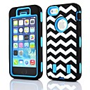 The Wave Rugged Hybrid Heavy Duty Case Cover Full Body for iPhone 5/5S