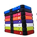 Tough Hybrid Heavy Duty Rugged Hard Rubber Kick Stand Case Cover for iPhone 5 5S