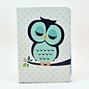 Sleeping Owl Pattern Full Body Case with Stand for Samsung Galaxy Note 10.1 N8000/N8010