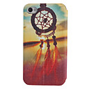 Wind-bell Pattern Full Body Case with Window for iPhone 4/4S