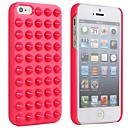 The Punk Style Jelly Ice Cream Rivet Protective Shell Case for iPhone5/5S