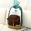 Personalizada del regalo del modelo Wintersweet azul y blanco mochila de lona