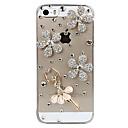 Dancing Crystal Girl Design Back Case for iPhone 5/5S