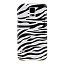 Zebra Stripe Pattern Back Case for Samsung S5