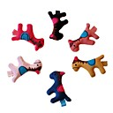 Lureme One Piece Candy Colors Vivid Horses Barrettes(Random Color)